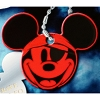 Disney Engraved ID Tag - Mickey Mouse - Pirate Face