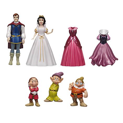 Disney Figurine Set Snow White Deluxe Fashion Play Set