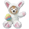 Disney Duffy Bear Plush - Easter Bunny - 9''