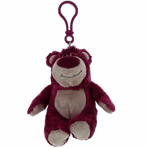 Disney Keychain Toy Story Lotso Bear Plush
