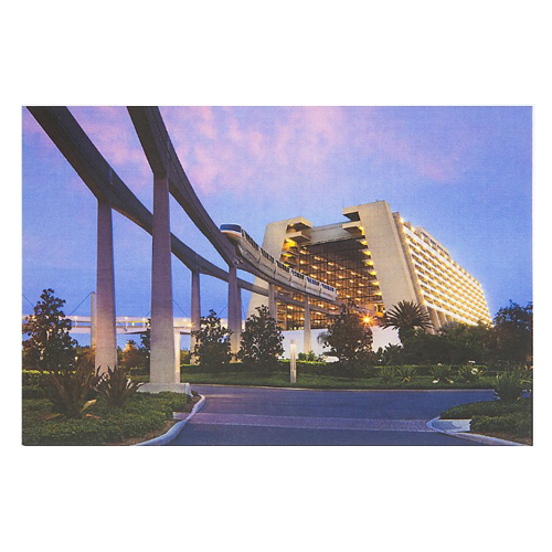 Disney Postcard - Contemporary Resort