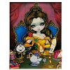 Disney Magnet - Belle's Enchantment by Jasmine Becket-Griffith