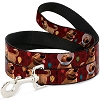 Disney Designer Pet Leash - PIXAR UP - Dug Dog Cone of Shame
