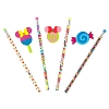 Disney Novelty Pencil - Minnie Mouse Candy Pencils & Erasers Set