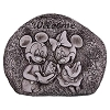 Disney Welcome Rock - Flower and Garden 2016 - Mickey and Minnie