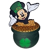 Disney Antenna Topper - St. Patrick's Day - Mickey Pot O' Gold