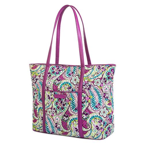 300f56b5a785 Disney Vera Bradley Bag - Plums Up - Trimmed Vera Tote