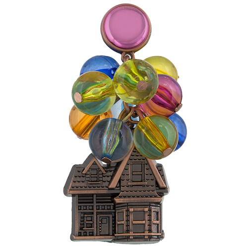 Disney UP Pin - Up House with 3-D Balloons 0517e2a0c0ea