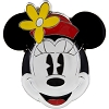 Disney Minnie Pin - Sculpted Minnie Mouse Face