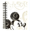 Disney Notebook - Black and White Mickey