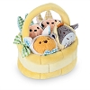 Disney Tsum Tsum Plush Set - Easter Basket Set - Mickey Pooh