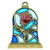 Disney Princess Pin - Beauty and the Beast - Rose Stained Glass
