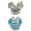 Disney Flower & Garden Festival Pin Set - 2016 Mickey & Minnie Icons