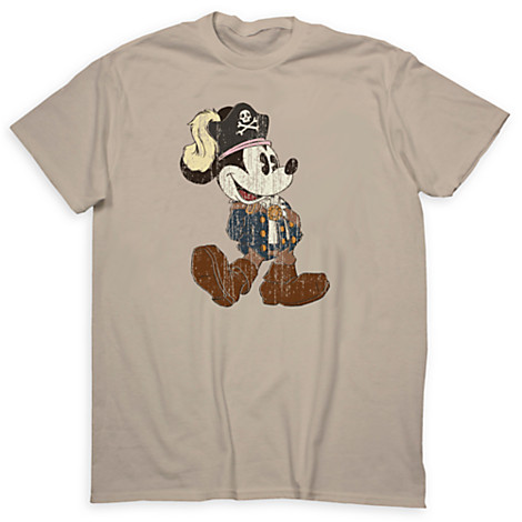 Your Wdw Store Disney Adult Shirt Mickey Pirates Of