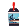Disney Luggage Tag - Monorail and Castle