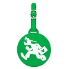 Disney Luggage Tag - Round - Goofy Running