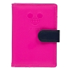 Disney Mickey Travel TAG Passport Holder - Hot Pink