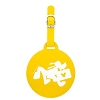 Disney Luggage Tag - Round - Pluto Running