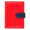 Disney TAG Mickey Travel Passport Wallet - Red
