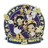 Disney Cinco De Mayo Pin - 2016 Mickey Donald and Goofy