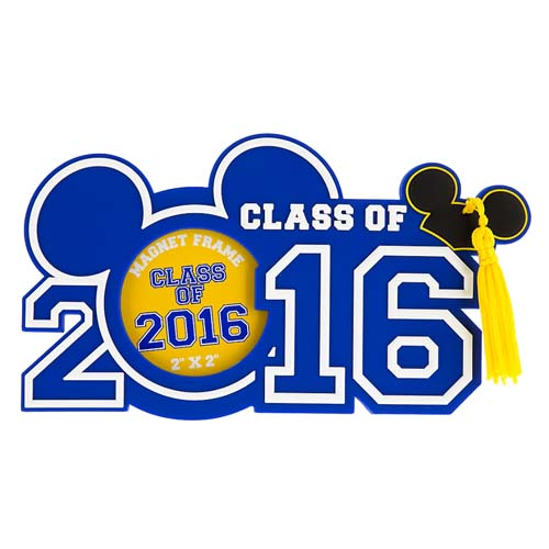 Disney Magnet Photo Frame Graduation Class Of 2016