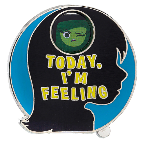 Disney Pixar Inside Out Pin - Today I'm Feeling - Spinner