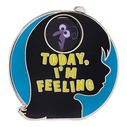 4037792f888 Disney Pixar Inside Out Pin - Today I m Feeling - Spinner