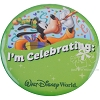 Disney Souvenir Button - I'm Celebrating! - Goofy