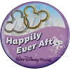 Disney Souvenir Button - Happily Ever After - Rings