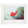 Disney Deluxe Print - Ariel and Flounder