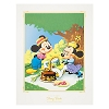 Disney Deluxe Print - Mickey and Minnie Mouse Picnic
