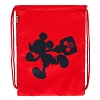 Disney Cinch Backpack - T.A.G. Mickey Running Cinch Sack - Red