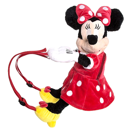 Disney Backpack -  Minnie Character Plush