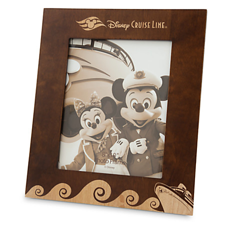 disney picture frame cruise line 8 x 10 wood frame