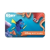 Disney Collectible Gift Card - Finding Dory