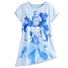 Disney LADIES Shirt - Cinderella Watercolor Asymmetrical Tee