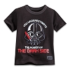 Disney TODDLER Shirt - Star Wars - Darth Vader Ringer Tee for Toddlers