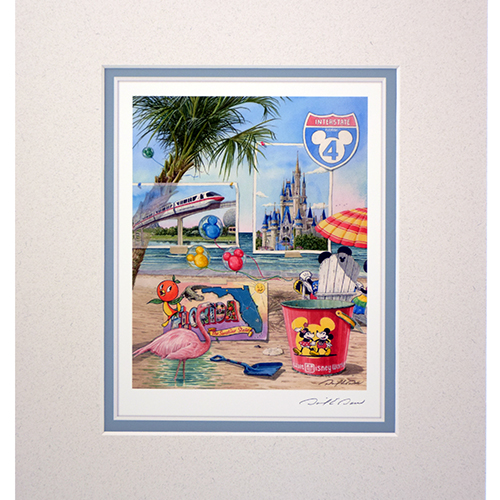 Disney David Doss Print Magical Greetings