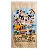 Disney Beach Towel - Animal Kingdom Mickey and Friends Safari