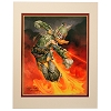 Disney Artist Print - Greg McCullough - Star Wars - Donald Duck as Boba Fett
