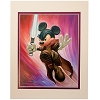Disney Artist Print - Greg McCullough - Mickey Wan Kenobi Star Wars