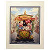 Disney Artist Print - Greg McCullough - Main Street Trolley