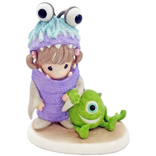 Disney Precious Moments Figurine Monsters Inc Boo And Mike