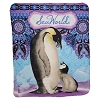 SeaWorld Throw - Fleece Penguin Bali