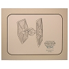 Disney Artist Sketch - Star Wars 10K Marathon - Tie Fighter