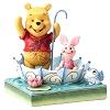 Disney Traditions by Jim Shore - Pooh and Piglet Sharing
