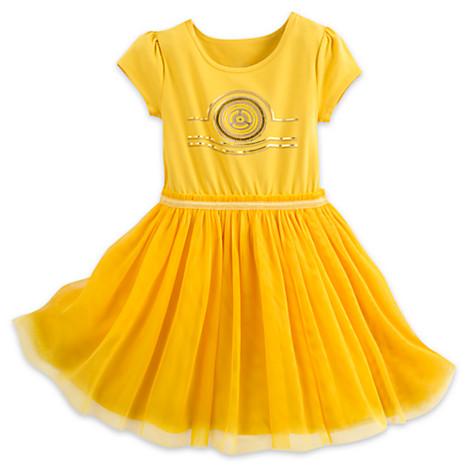 Disney Child Dress - Star Wars - C-3PO 2bae987637cb