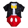 Disney Baby Bodysuit - Mickey Mouse Tuxedo Bodysuit for Baby