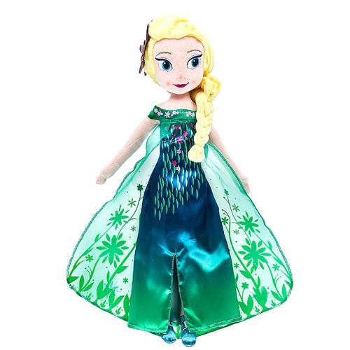 Your WDW Store - Disney Plush Doll - Frozen Fever Elsa 18''
