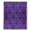 Disney Throw Blanket - Haunted Mansion Wallpaper Print